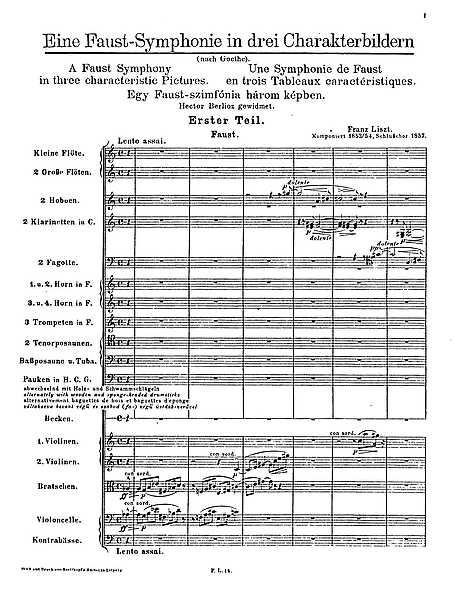 Miniatura de partitura